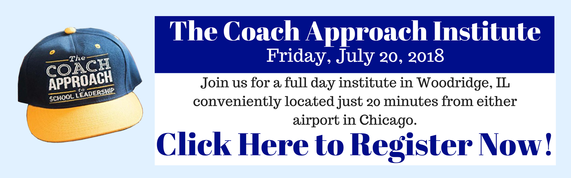 Coach Approach Institute Registration